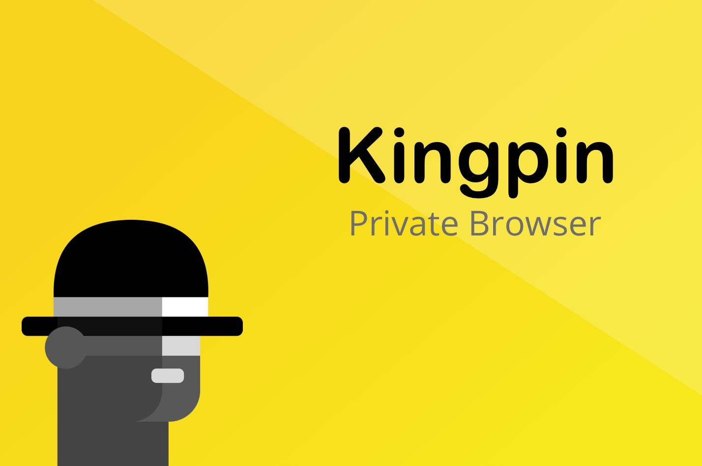 Kingpin, new browser with a focus on privacy