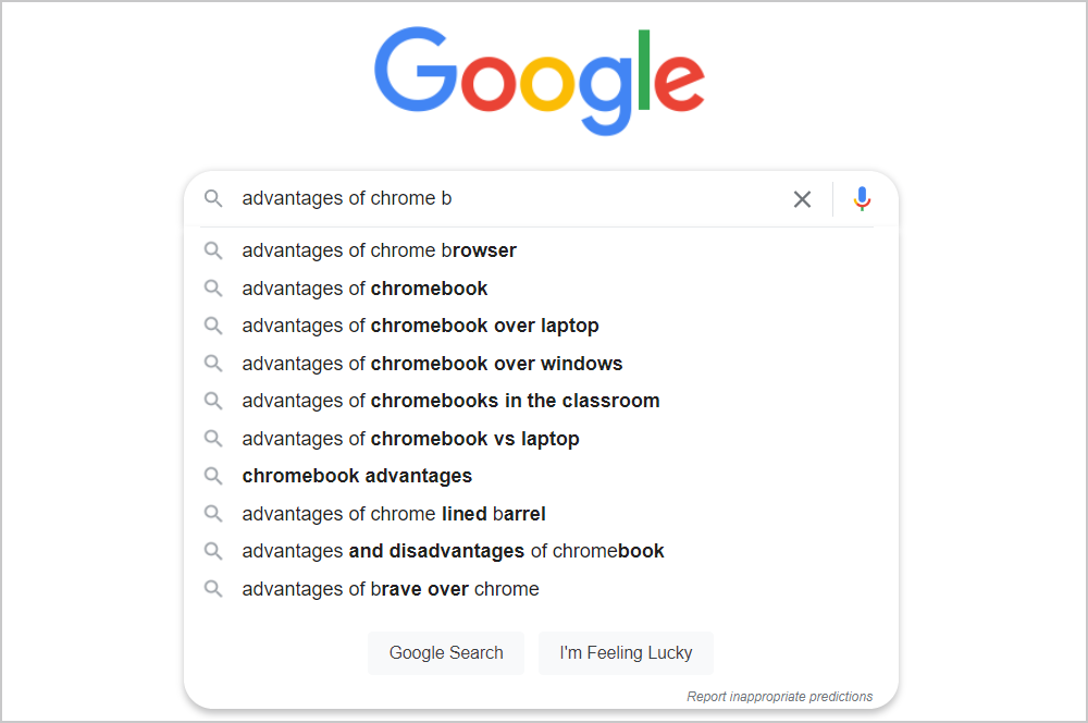 Advantages and disadvantages of Google Chrome browser