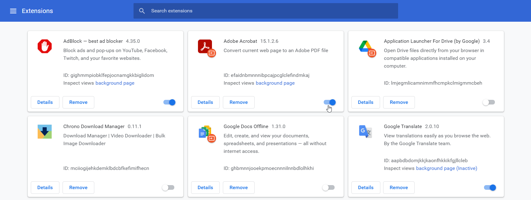 Why is Google Chrome so slow? Try disabling or removing extensions